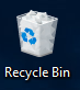 Recycle Bin pikakuvake.