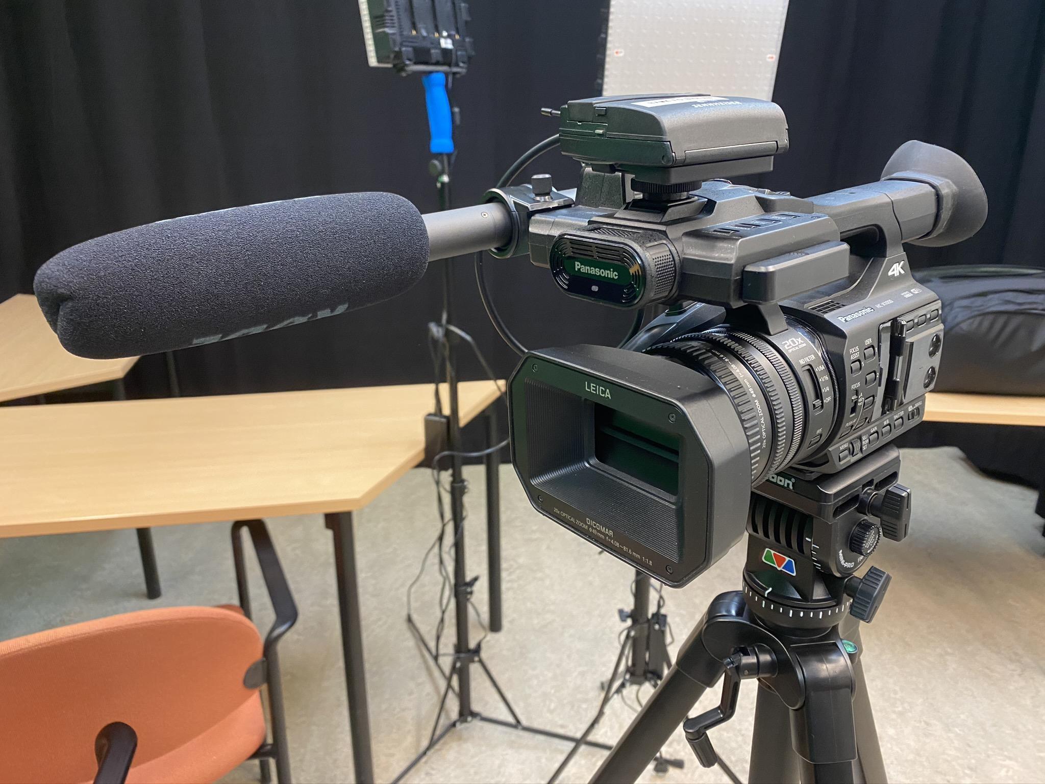Panasonic 4k videokamera.